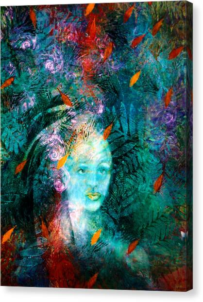 The Watcher Canvas Print by Sue Reed