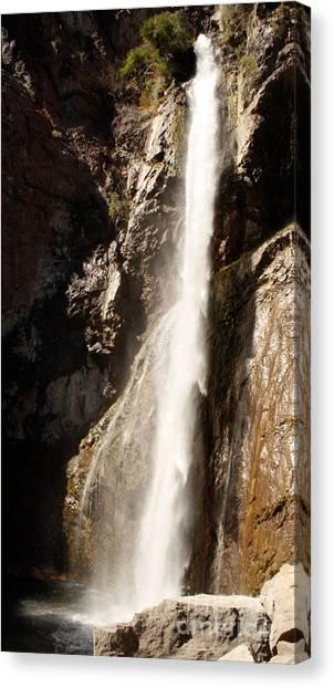 The Waterfall Canvas Print by Winona Steunenberg