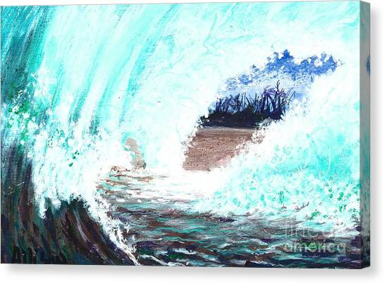 The Wave Canvas Print