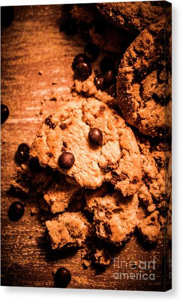 Biscuits Canvas Print - The Way The Cookie Crumbles by Jorgo Photography - Wall Art Gallery