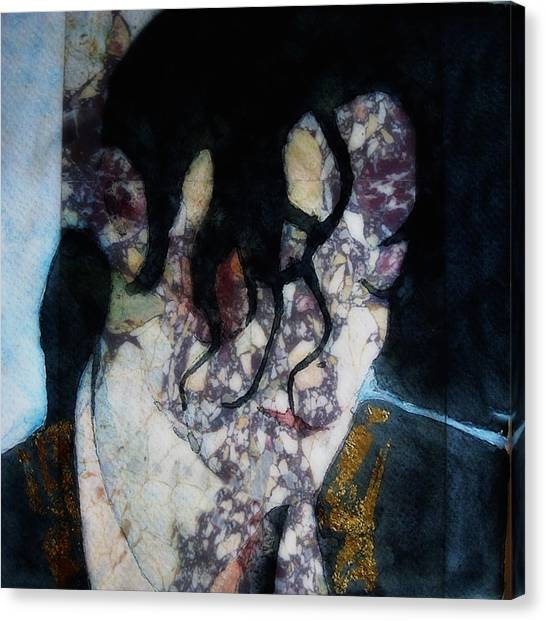 Michael Jackson Canvas Print - The Way You Make Me Feel by Paul Lovering