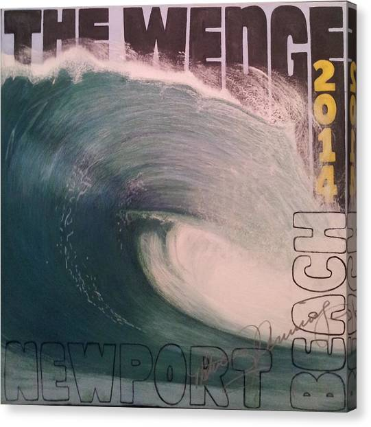 The Wedge 2014 Canvas Print