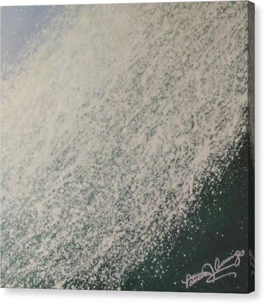 The Wedge - Dreaming Waves Canvas Print
