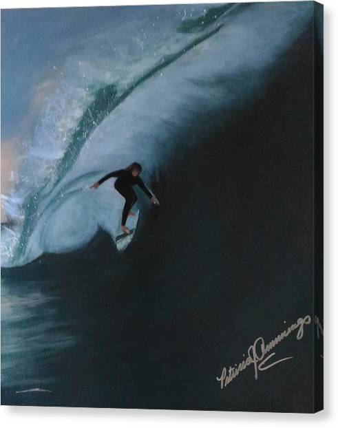 The Wedge - Shoot The Curl Canvas Print