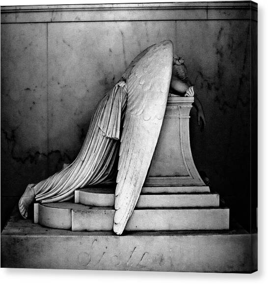 The Weeping Angel Canvas Print