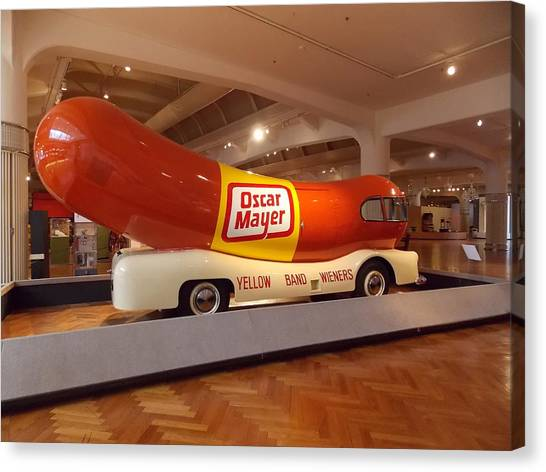The Weinermobile 1 Canvas Print