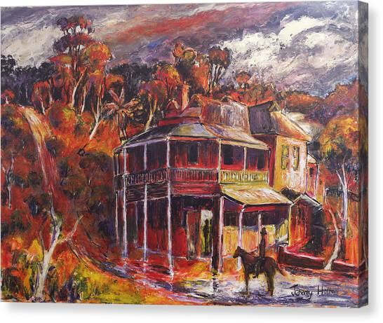 The Weir Canvas Print