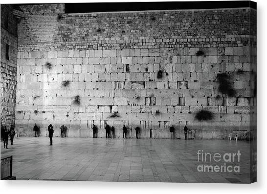 The Western Wall, Jerusalem 2 Canvas Print