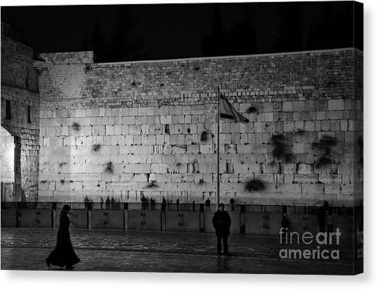 The Western Wall, Jerusalem Canvas Print