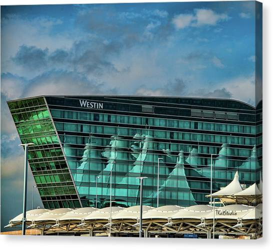 The Westin At Denver Internation Airport Canvas Print