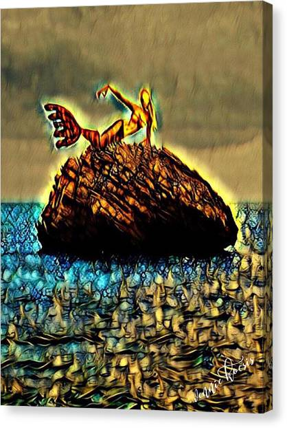 The Whisperer Canvas Print