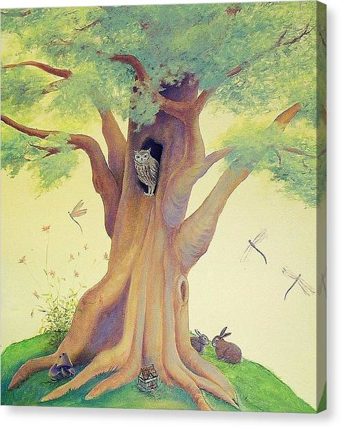 The Whistling Tree Canvas Print