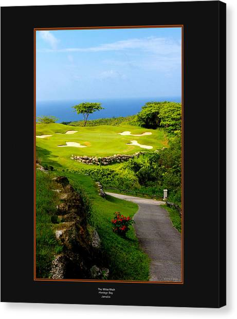 The White Witch Jamaica Canvas Print