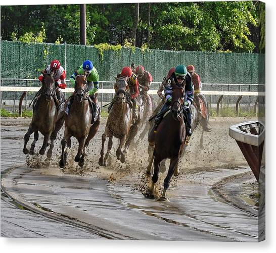 Diversify Winning The Whitney 2018 Canvas Print