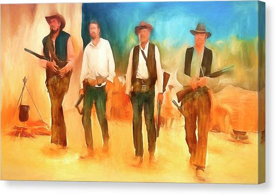 The Wild Bunch Canvas Print