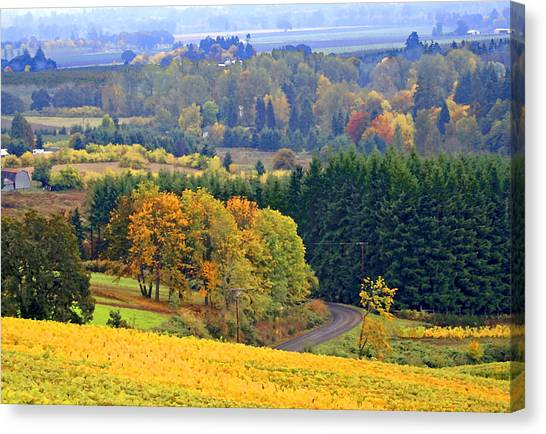 The Willamette Valley Canvas Print