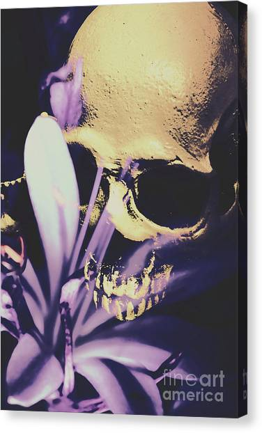 Death Canvas Print - The Wilted Weather Underground by Jorgo Photography - Wall Art Gallery