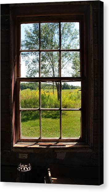 The Window  1 Canvas Print