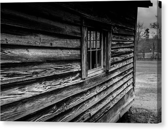 Canvas Print featuring the photograph The Window by Doug Camara