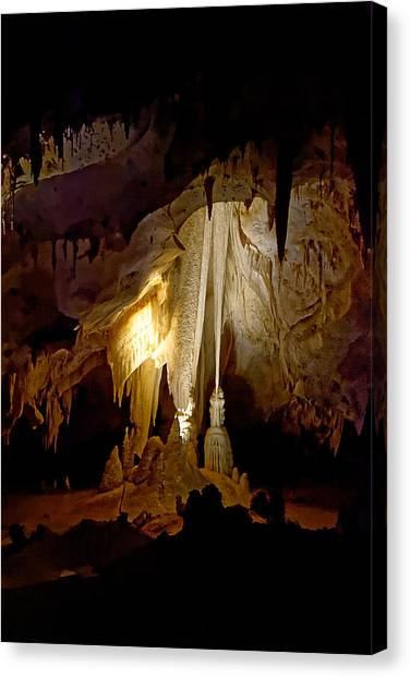 Limestone Caves Canvas Print - The Witch's Closet - Carlsbad Caverns National Park by Darin Volpe