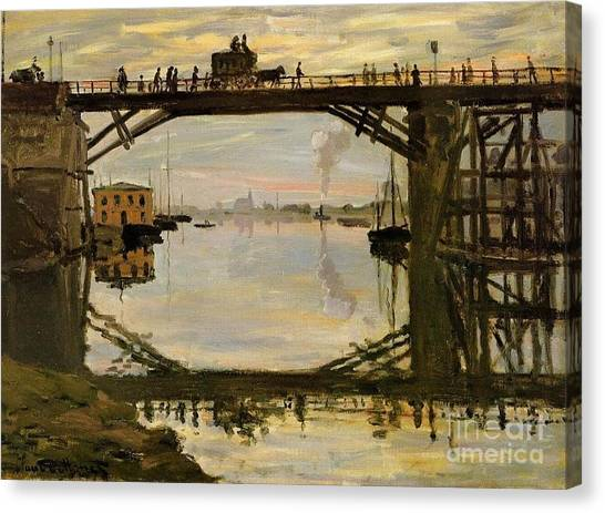 The Wooden Bridge Canvas Print