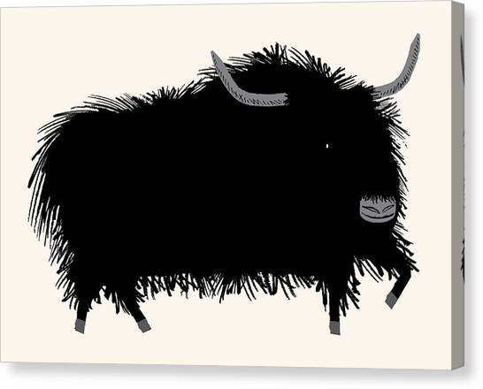 Yak Canvas Print - The Yak by Oliver Lake
