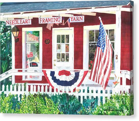 The Yarn Shop Canvas Print