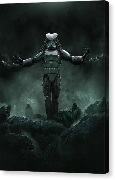 Stormtrooper Canvas Print - The Yautjatrooper by Exar Kun