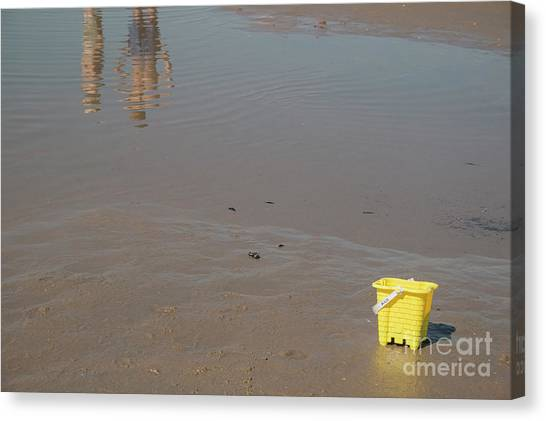 The Yellow Bucket Canvas Print