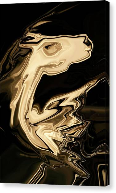 The Young Pegasus Canvas Print