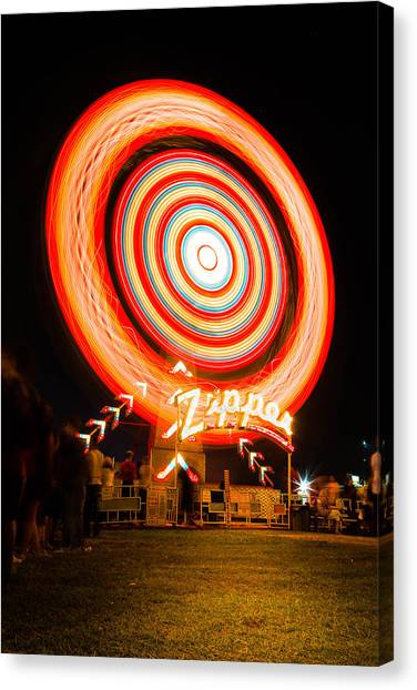 The Zipper Canvas Print by Bryan Moore