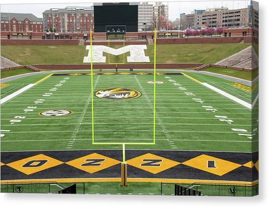 University Of Missouri Canvas Print - The Zou by Steve Stuller