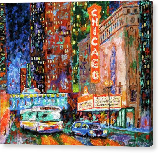 Gallery Wrap Canvas Print - Theater Night by J Loren Reedy