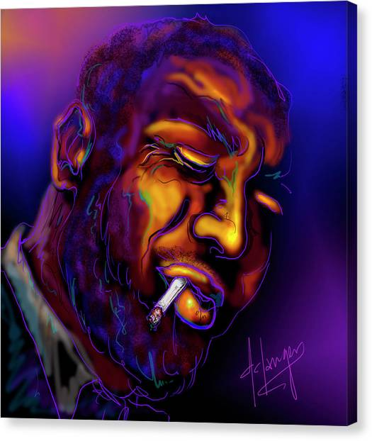 Thelonious My Old Friend Canvas Print