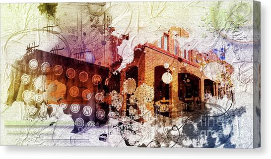 Them Olden Days Canvas Print