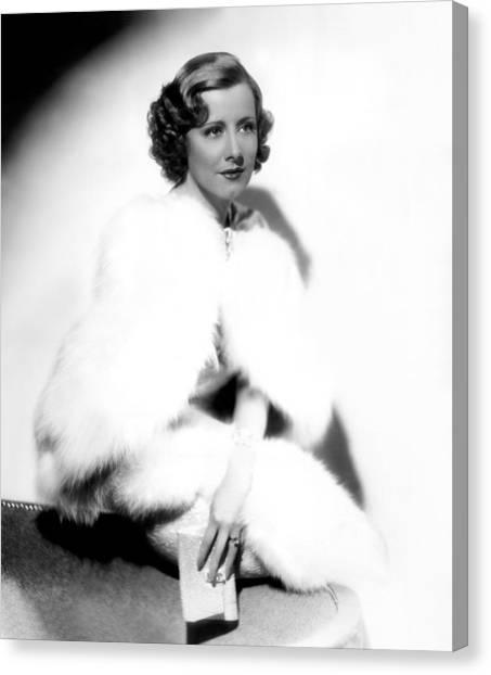Theodora Goes Wild, Irene Dunne, 1936 Canvas Print by Everett