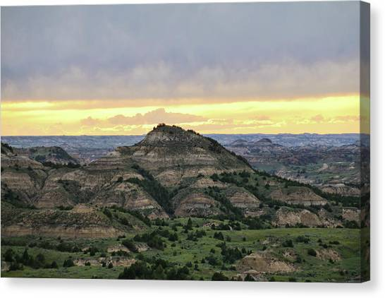 Theodore Roosevelt National Park, Nd Canvas Print
