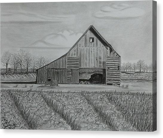 Theresa's Barn Canvas Print