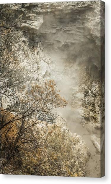 Rotorua Canvas Print - Thermal Wonderland by Racheal Christian