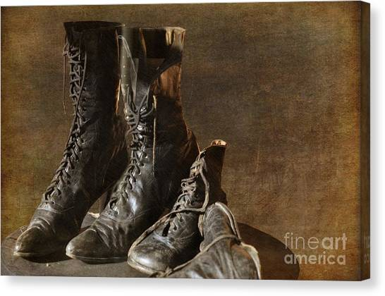 These Boots Are Made For Walking Canvas Print