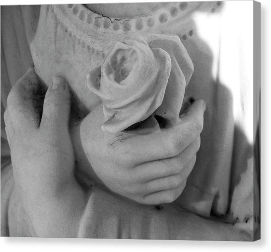 These Hands Canvas Print by Barbara Palmer