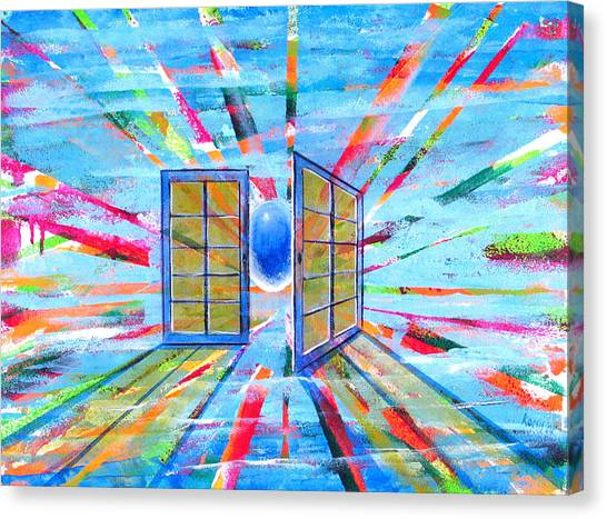 These Open Doors Canvas Print by Rollin Kocsis