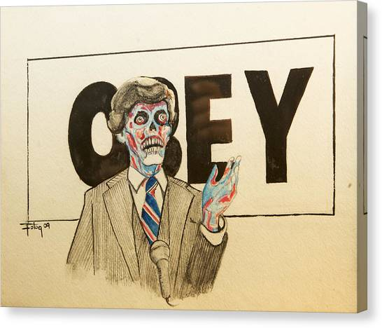 They Live Canvas Print by Christopher Chouinard