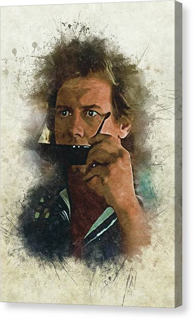 Celebrities Canvas Print - They Live? by Dusan Naumovski