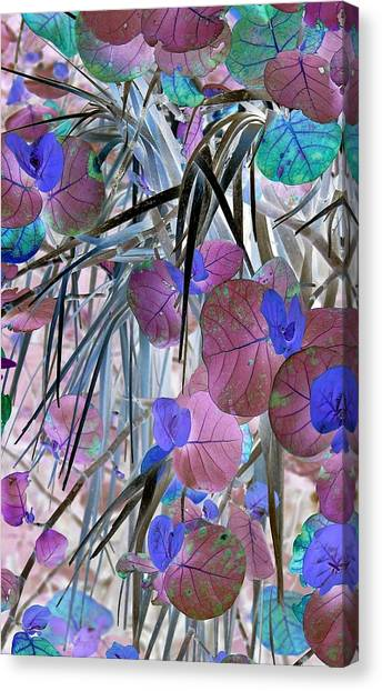 Thick And Thin Canvas Print