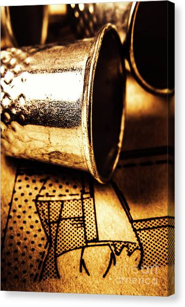 Repairs Canvas Print - Thimble By Design by Jorgo Photography - Wall Art Gallery