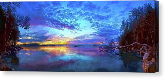 Thin Ice 2 Canvas Print