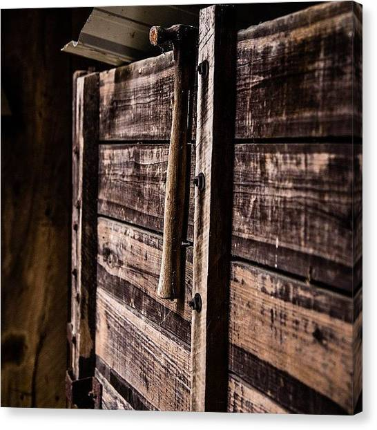 Hammers Canvas Print - Things Inside Barns by Caleb Daugherty