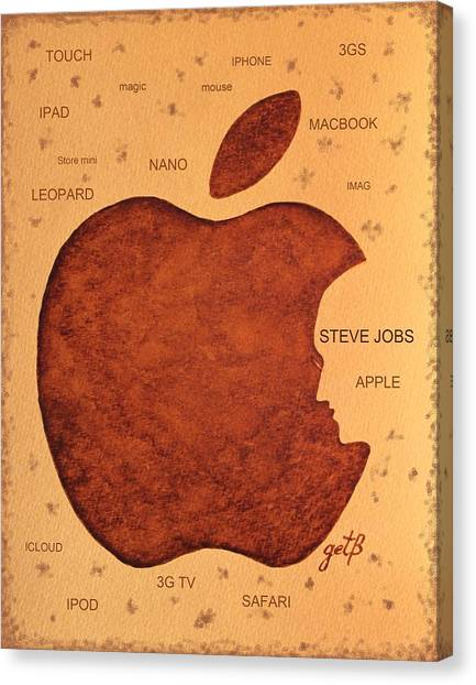 Think Different Steve Jobs  Canvas Print