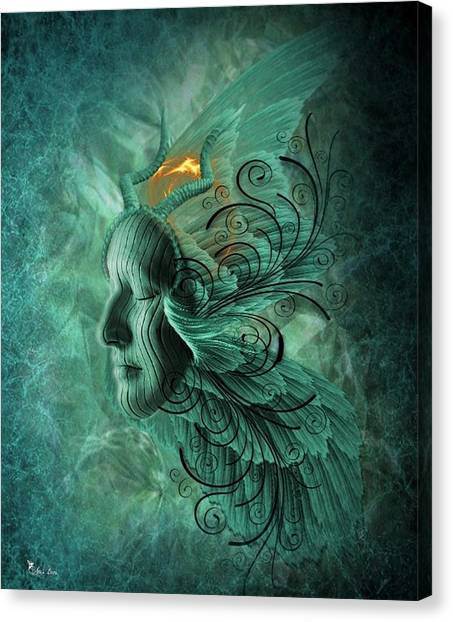 Thinking Deep  Canvas Print
